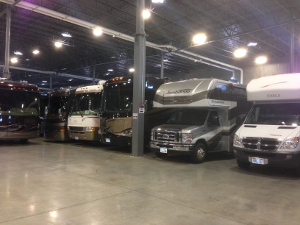 Indoor Motorhome Storage Brisbane